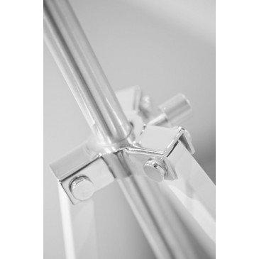 Lampadaire en Fer Blanc HOLLYWOOD  | www.cosy-home-design.fr