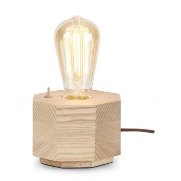 Lampe en Bois Naturel KOBE  | www.cosy-home-design.fr