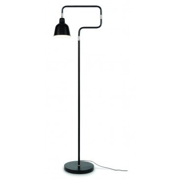Lampadaire en Fer Noir LONDON  | www.cosy-home-design.fr