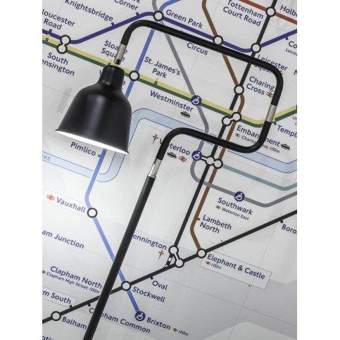 Lampadaire en Fer Noir LONDON  | www.cosy-home-design.fr