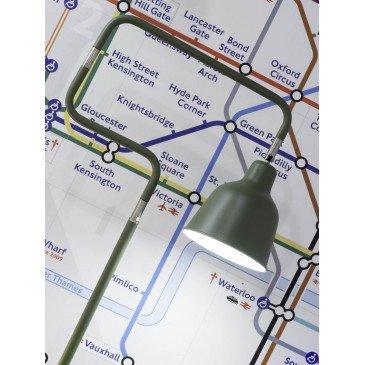 Lampadaire en Fer Vert LONDON  | www.cosy-home-design.fr
