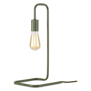 Lampe en Fer Vert LONDON  | www.cosy-home-design.fr