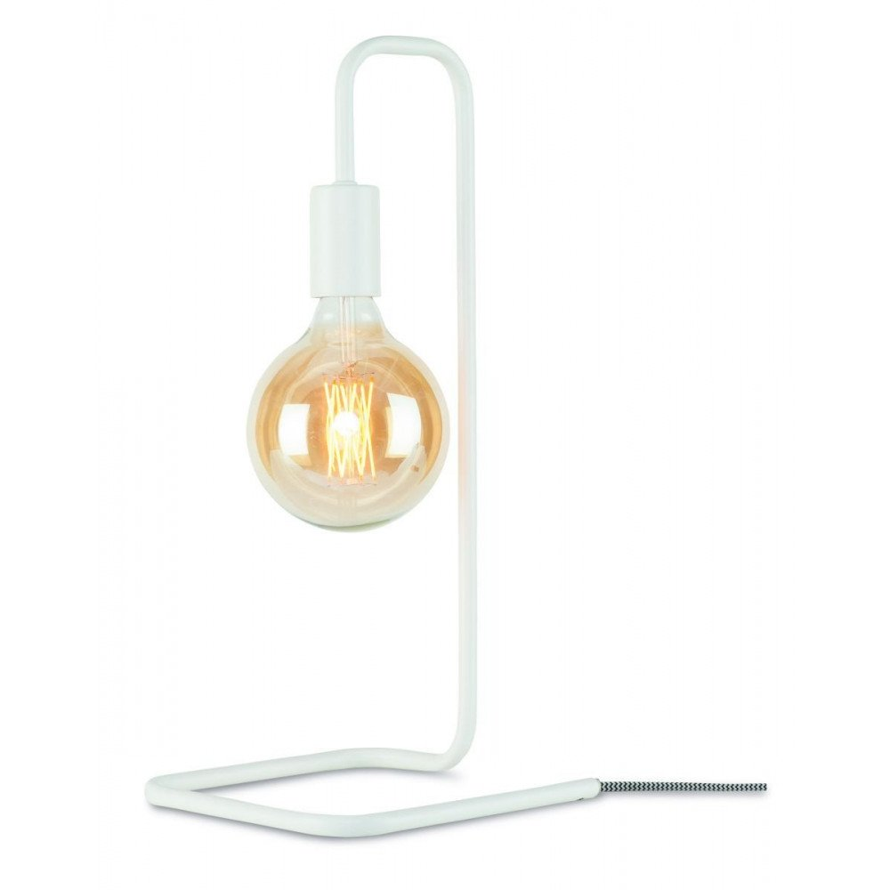Lampe en Fer Blanc LONDON  | www.cosy-home-design.fr