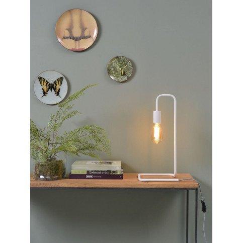 Lampe en Fer Blanc LONDON  | www.cosy-home-design.fr
