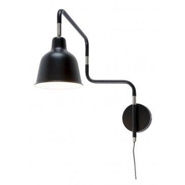 Applique en Fer Noir LONDON  | www.cosy-home-design.fr
