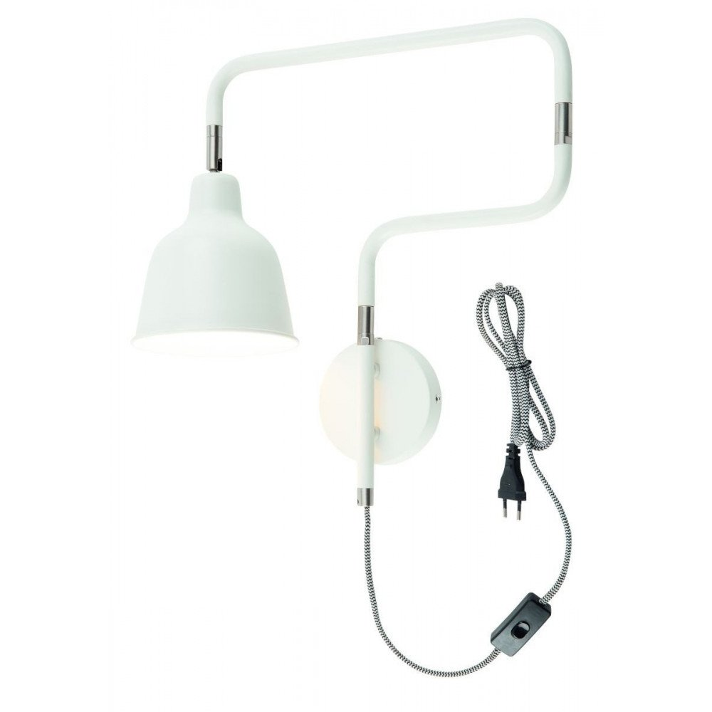 Applique en Fer Blanc LONDON  | www.cosy-home-design.fr