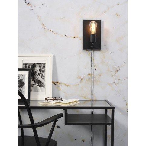 Applique en Fer Noir MADRID L | www.cosy-home-design.fr