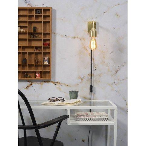 Applique en Fer Doré MADRID S | www.cosy-home-design.fr