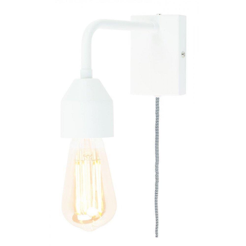 Applique en Fer Blanc MADRID S | www.cosy-home-design.fr