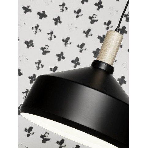 Suspension en Fer Noir et naturel MELBOURNE L | www.cosy-home-design.fr