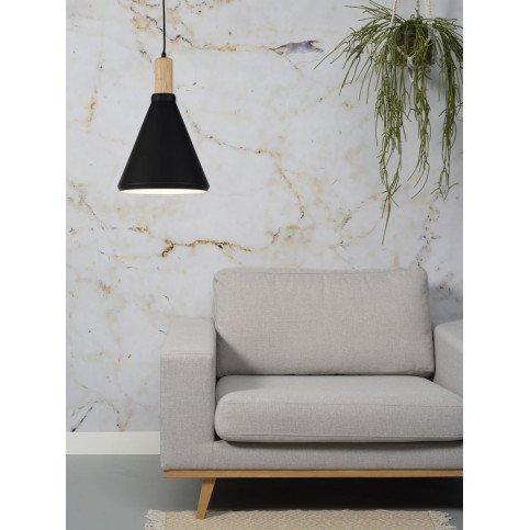 Suspension en Fer Noir et naturel MELBOURNE S | www.cosy-home-design.fr