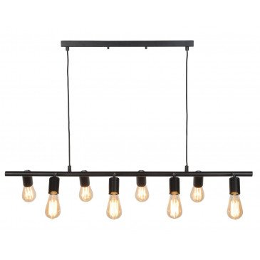 Suspension en Fer Noir MIAMI  | www.cosy-home-design.fr