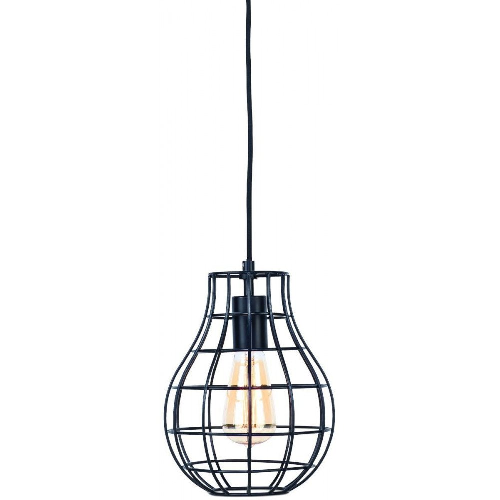 Suspension en Fer Noir PITTSBURGH  | www.cosy-home-design.fr