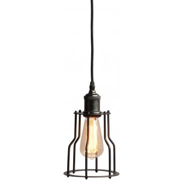 Suspension en Fer Noir RIGA  | www.cosy-home-design.fr