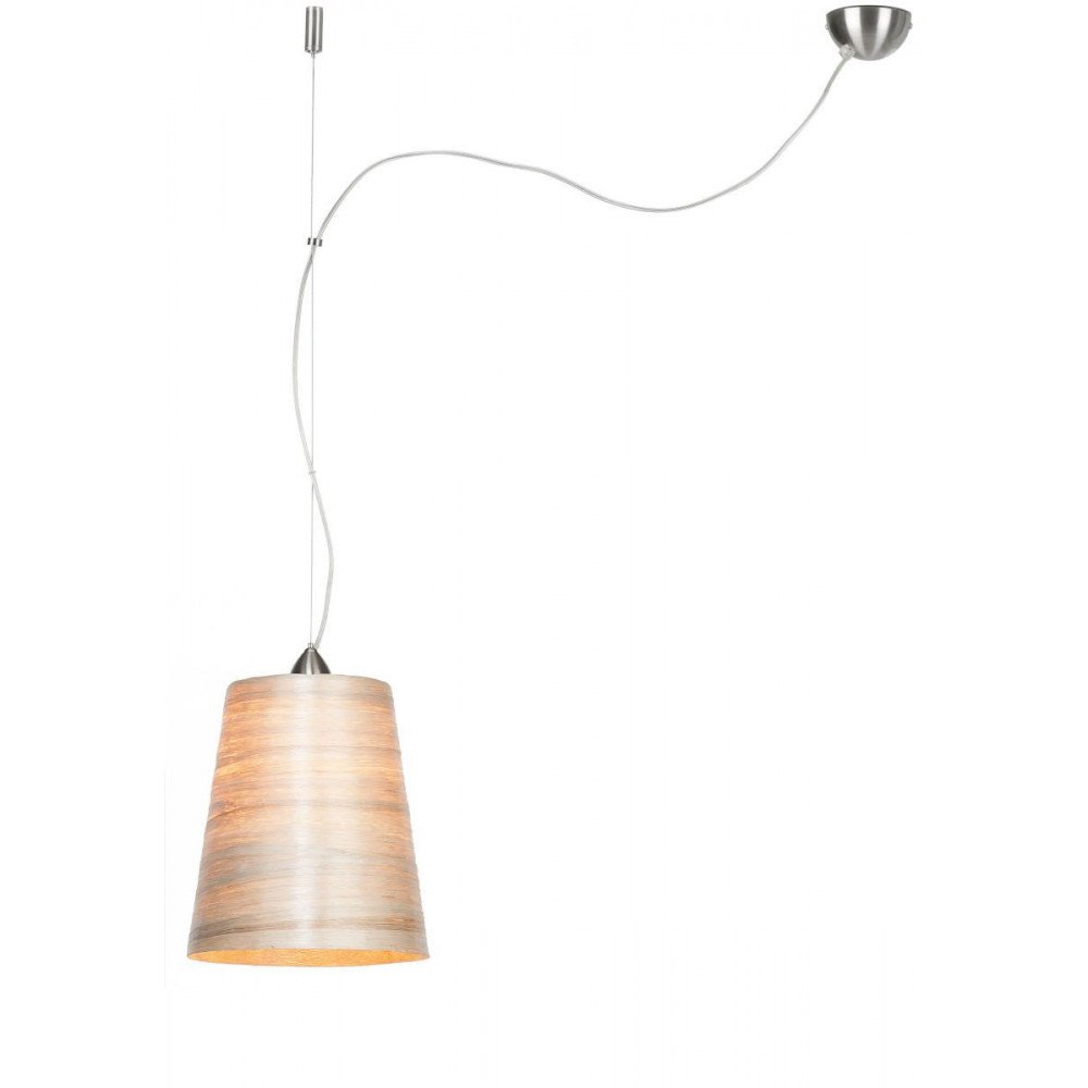 Suspension en Abaca Naturel Solo SAHARA M | www.cosy-home-design.fr