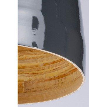 Suspension en Bambou Gris et naturel SAIGON  | www.cosy-home-design.fr
