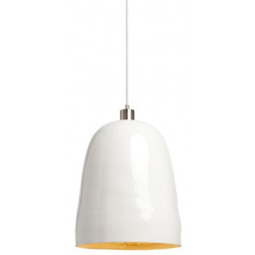 Suspension en Bambou Blanc et naturel SAIGON  | www.cosy-home-design.fr