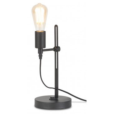 Lampe en Fer Noir boston  | www.cosy-home-design.fr