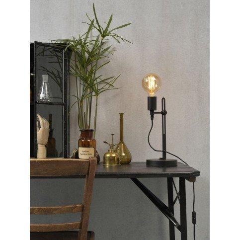 Lampe en Fer Noir boston  | www.cosy-home-design.fr