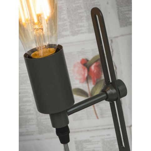 Lampe en Fer Gris-vert boston  | www.cosy-home-design.fr