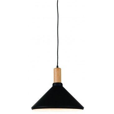 Suspension en Fer Noir et naturel MELBOURNE M | www.cosy-home-design.fr