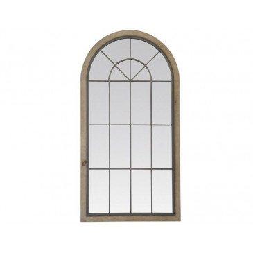 MIROIR BASILE MÉTAL ET BOIS 80X151CM | www.cosy-home-design.fr