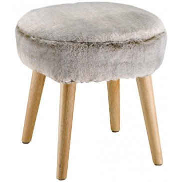 Housse de Tabouret Heta Naturel | www.cosy-home-design.fr