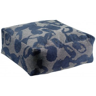 Pouf Hinda Encre | www.cosy-home-design.fr