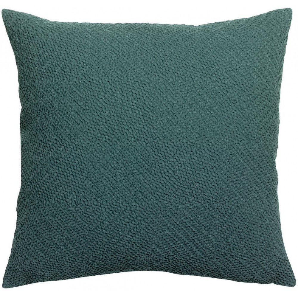 Housse de Coussin Stonewashed Ava Prusse 45 | www.cosy-home-design.fr