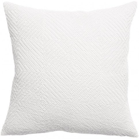 Housse de Coussin Stonewashed Ava Blanc 45 | www.cosy-home-design.fr