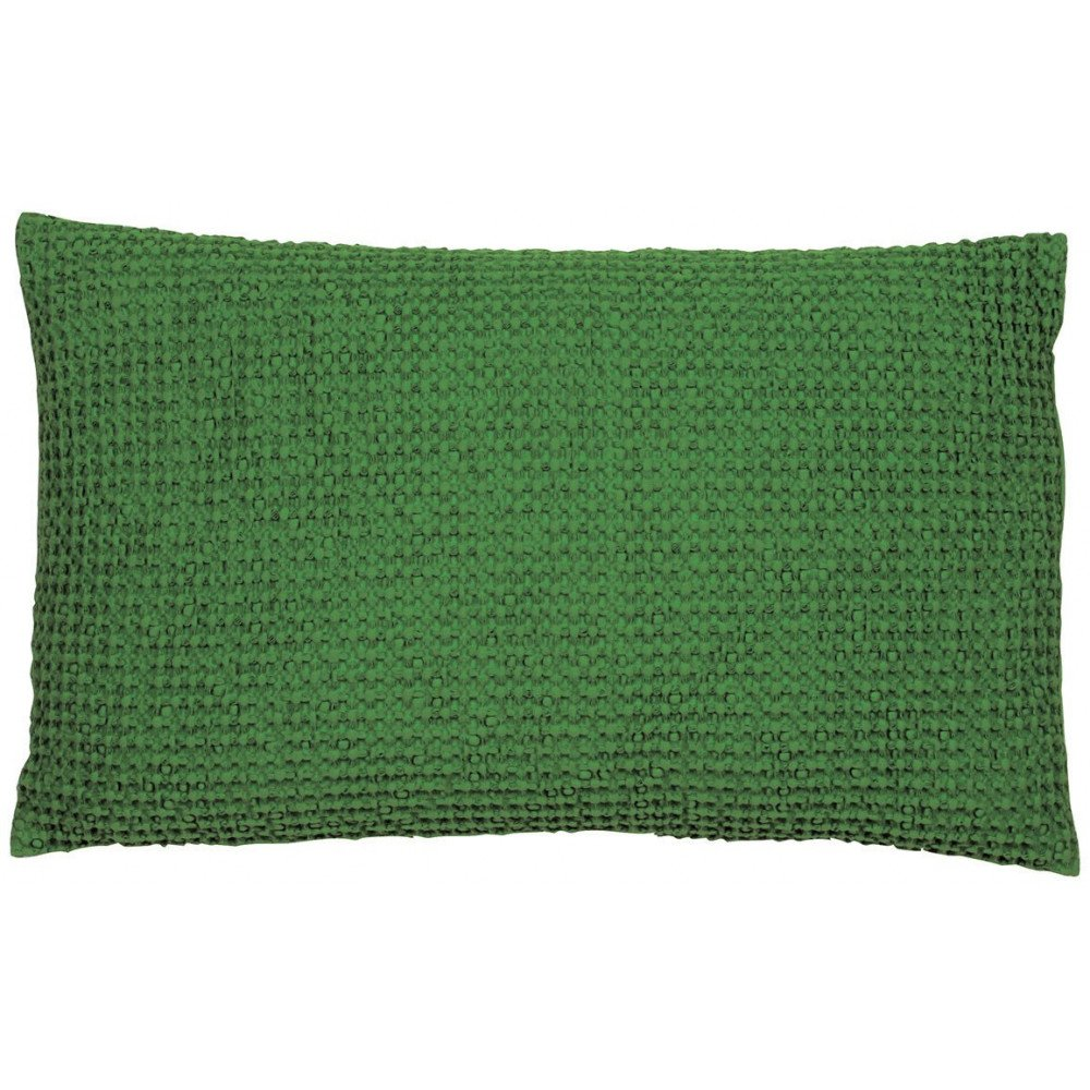 Housse De Coussin Stonewashed Maia Sapin 50 | www.cosy-home-design.fr