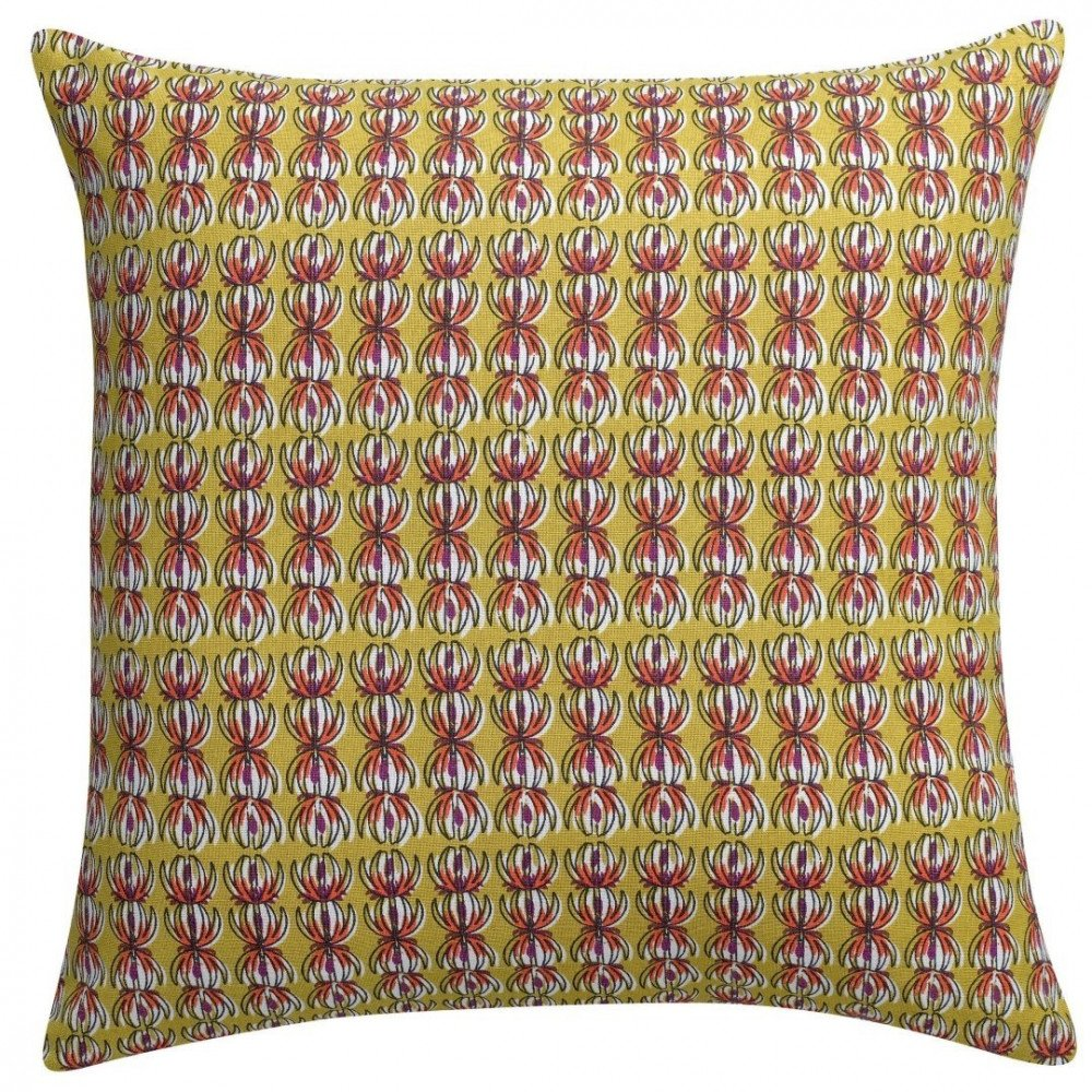 Housse de Coussin Pulin Curry 45 | www.cosy-home-design.fr