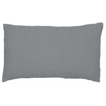 Housse de Coussin Stonewashed Maia Ecume 50 | www.cosy-home-design.fr