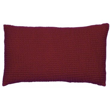 Housse de Coussin Stonewashed Maia Griotte 50 | www.cosy-home-design.fr