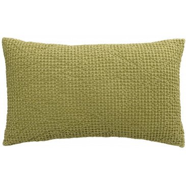 Housse de Coussin Stonewashed Maia Matcha 50 | www.cosy-home-design.fr