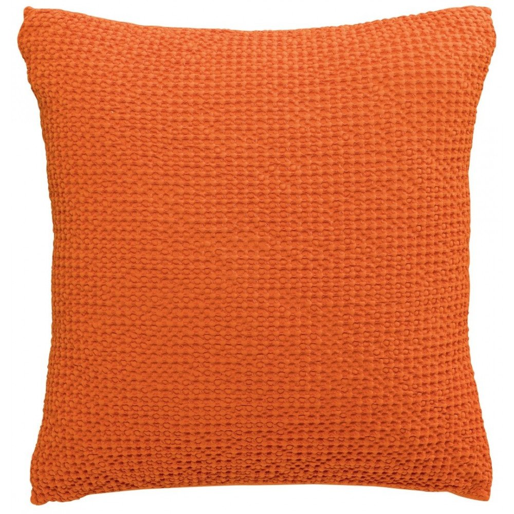 Housse de Coussin Stonewashed Maia Clementine 45 | www.cosy-home-design.fr