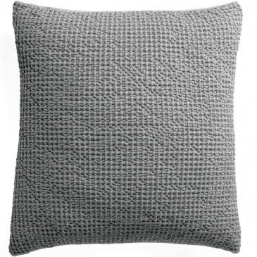 Housse de Coussin Stonewashed Maia Ecume 45 | www.cosy-home-design.fr