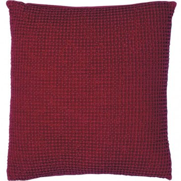 Housse de Coussin Stonewashed Maia Griotte 45 | www.cosy-home-design.fr