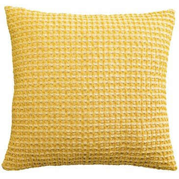 Housse de Coussin Stonewashed Naga Vichy Absynthe 45 | www.cosy-home-design.fr