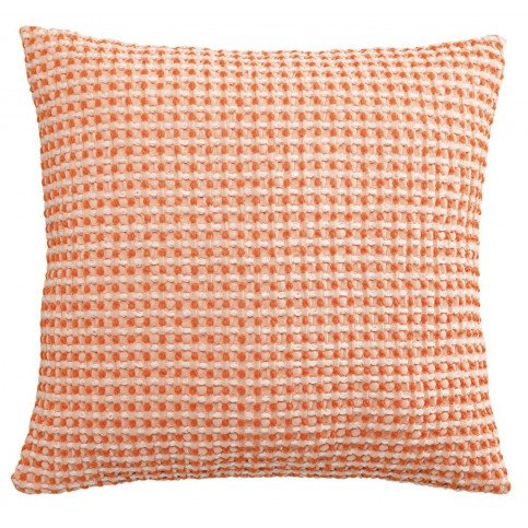 Housse de Coussin Stonewashed Naga Vichy Clementine 45 | www.cosy-home-design.fr