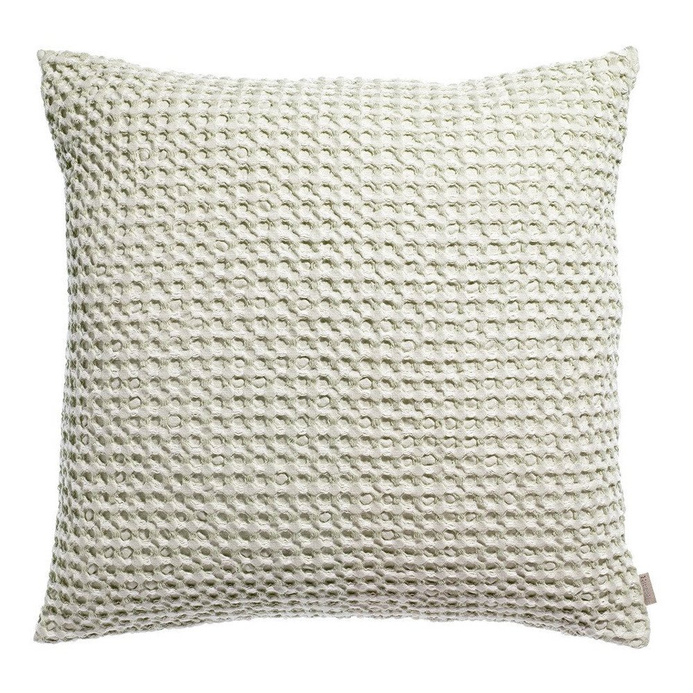 Housse de Coussin Stonewashed Naga Vichy Lin 45 | www.cosy-home-design.fr