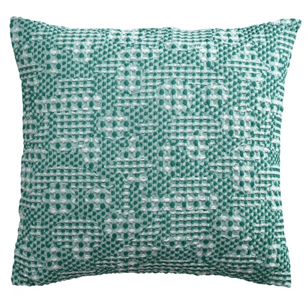 Housse de Coussin Stonewashed Talin Paon 45 | www.cosy-home-design.fr