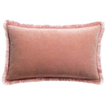 Housse de Coussin Uni Fara Pink 50 | www.cosy-home-design.fr