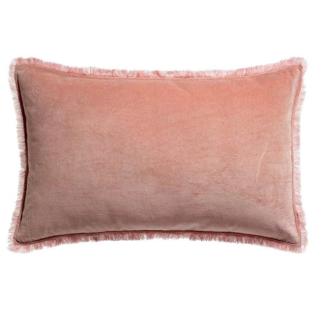 Housse de Coussin Uni Fara Pink 65 | www.cosy-home-design.fr
