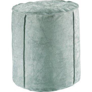 Pouf Velor Sauge | www.cosy-home-design.fr