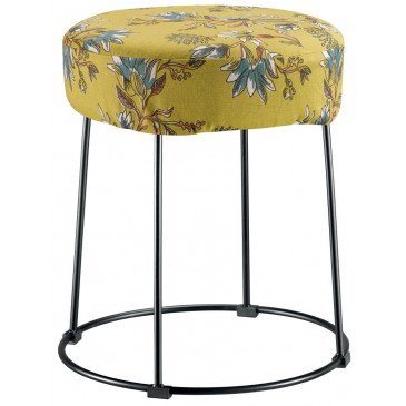 Housse de Tabouret Porto Curry | www.cosy-home-design.fr