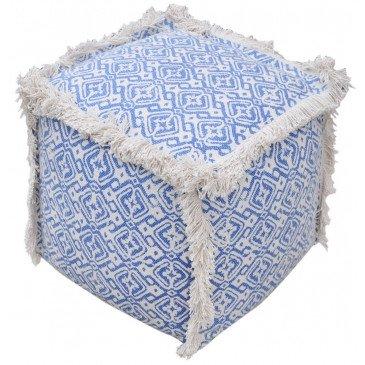 Pouf Baotou Bleu | www.cosy-home-design.fr