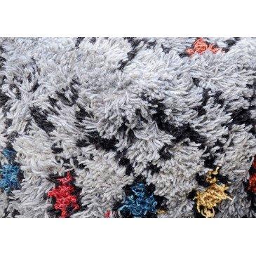 Pouf Crayolo Naturel et Gris | www.cosy-home-design.fr