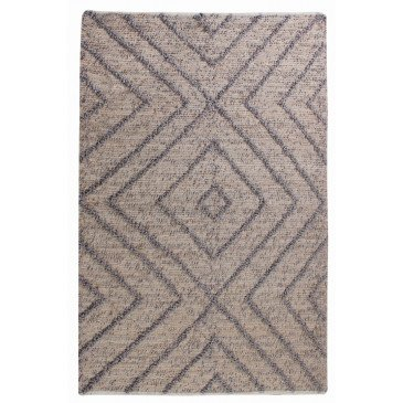 Tapis Worgan Gris 90 | www.cosy-home-design.fr