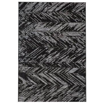 Tapis Evora Noir 170 | www.cosy-home-design.fr